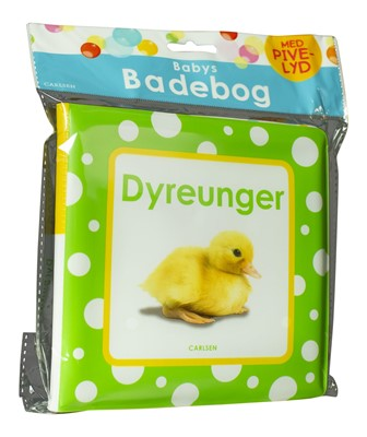 Babys badebog: Dyreunger (med pivelyd)  9788711904329