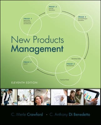 New Products Management C.Merle Crawford, C. Anthony Di Benedetto 9780078029042