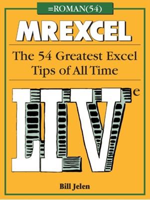 MrExcel LIVe Bill Jelen 9781615470563