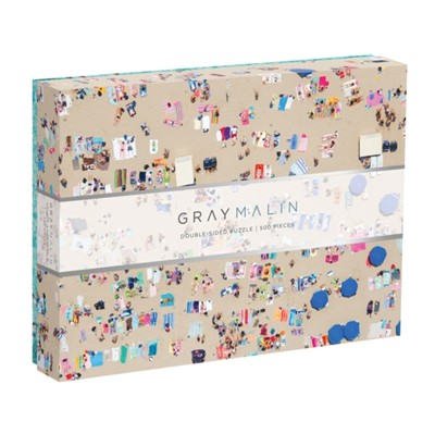 Gray Malin The Beach Two-sided Puzzle Sarah McMenemy 9780735357242