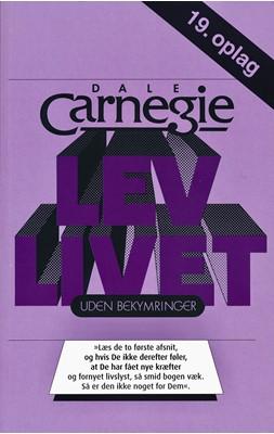 Lev livet uden bekymringer Dale Carnegie 9788772308357