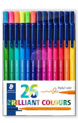 STAEDTLER Triplus color tusser, 26 stk.  4007817017128