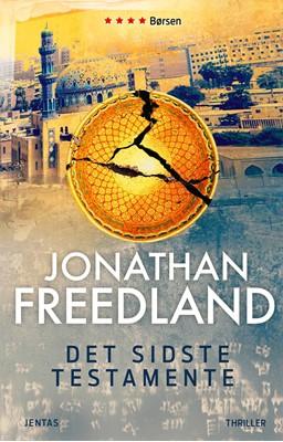 Det sidste testamente Jonathan Freedland 9788771076493