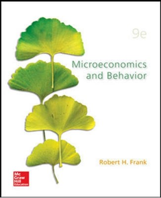 Microecomics and Behavior (Int'l Ed) Robert H. Frank 9781259253935
