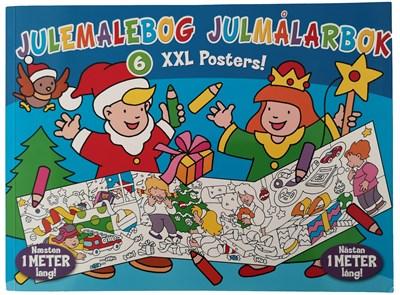 Julemalebog - XXL posters - ingen forfatter - - ingen forfatter - 9788771315400
