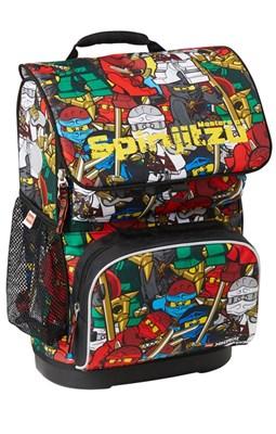 Skoletaske - LEGO Ninjago Comic, Optimo  5711013055479