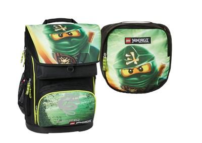 Skoletaske - LEGO Ninjago Lloyd, Maxi  5711013047634