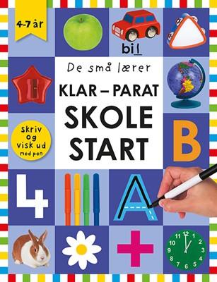 De små lærer - Skriv og visk ud - Klar-parat-skolestart  9788741508269