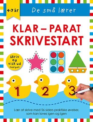 De små lærer - Skriv og visk ud - Klar-parat-skrivestart  9788741508276