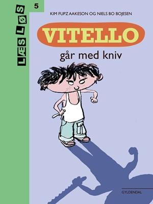 Vitello går med kniv Kim Fupz Aakeson 9788702279849