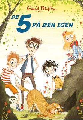 De 5 (6) - De 5 på øen igen Enid Blyton 9788711906927