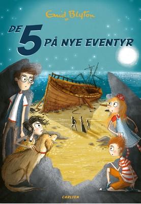 De 5 (3) - De 5 på nye eventyr Enid Blyton 9788711903711