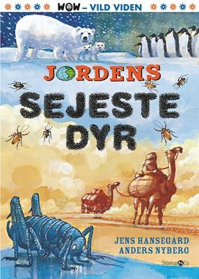 Jordens sejeste dyr Jens Hansegård 9788770181204