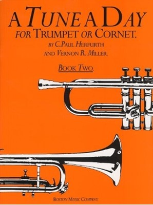 A Tune A Day For Trumpet Or Cornet Book Two  9780711915855