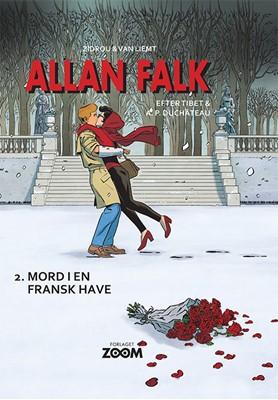 Allan Falk 2: Mord i en fransk have Van Liemt, Zidrou 9788770210508