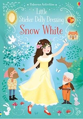 Little Sticker Dolly Dressing Snow White Fiona Watt 9781474962285