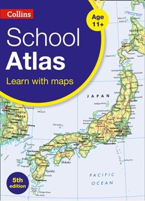 Collins School Atlas Collins Maps 9780008319465