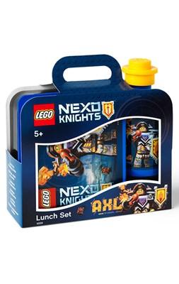 Madkassesæt med drikkedunk, LEGO Nexo Knights Axl  5711938026837