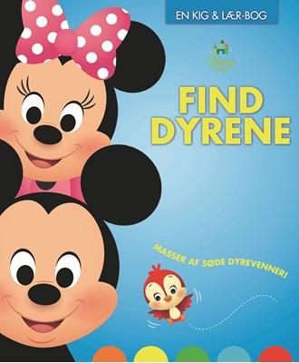 Disney Baby Find dyrene Karrusel Forlag 9788771861426