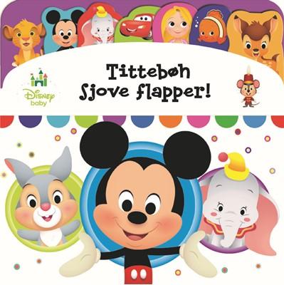 Disney Baby - Tittebøh sjove flapper - Kig og find  9788771861433