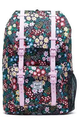 9b33f71b466 Køb Herschel Little America Youth rygsæk i multi blomstret design her