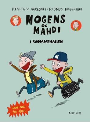 Mogens og Mahdi i svømmehallen Kim Fupz Aakeson 9788711912232