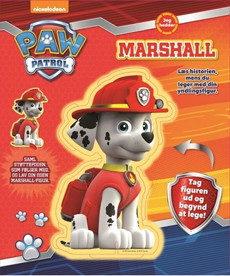 Paw Patrol I am Marshall  9788771315646