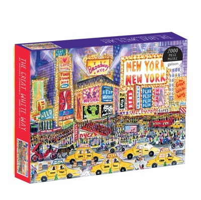 Michael Storrings The Great White Way 2000 Piece Puzzle  9780735357037