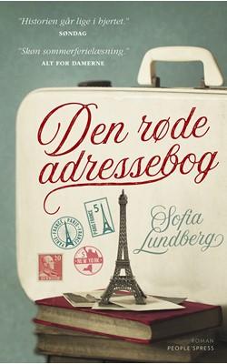 Den røde adressebog PB Sofia Lundberg 9788772009438
