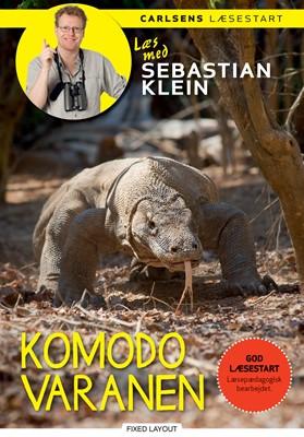Læs med Sebastian Klein - Komodovaranen Sebastian Klein 9788711914625