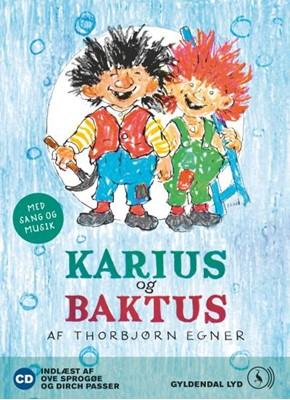 Karius og Baktus Thorbjørn Egner 9788702103632