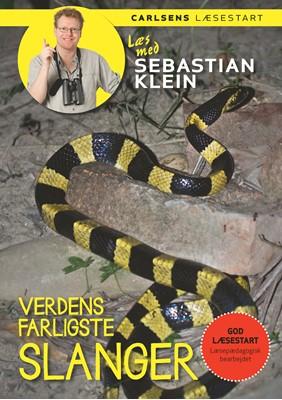 Læs med Sebastian Klein - Verdens farligste slanger Sebastian Klein 9788711914663