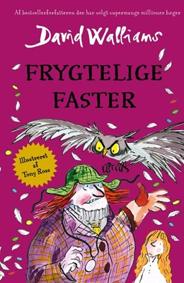 Frygtelige faster David Walliams 9788771915846