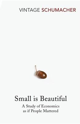 Small Is Beautiful E. F. Schumacher 9780099225614
