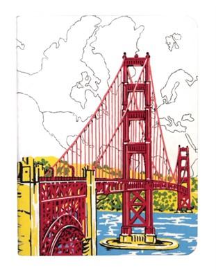 San Francisco Golden Gate Handmade Journal Galison 9780735342866