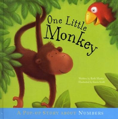 One Little Monkey Gavin Scott, Ruth Martin 9781848773424