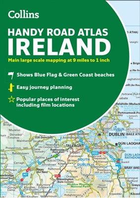 Collins Handy Road Atlas Ireland Collins Maps 9780008320393