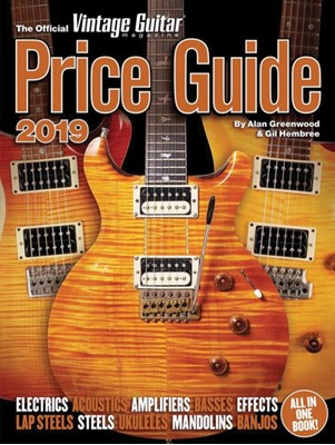 Official Vintage Guitar Magazine Price Guide 2019 Alan Greenwood, Gil Hembree 9781884883415