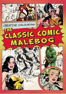 The Classic Comic Malebog Karrusel Forlag 9788771313574