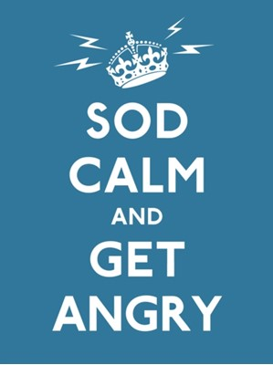 Sod Calm and Get Angry Various 9780091938703