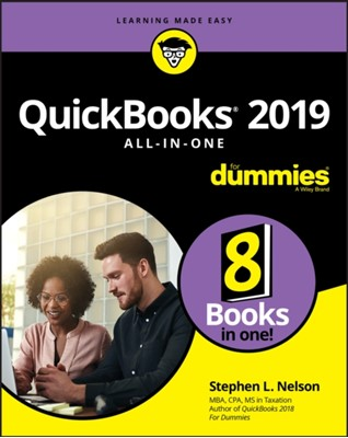 QuickBooks 2019 All-in-One For Dummies Stephen L. Nelson 9781119523741