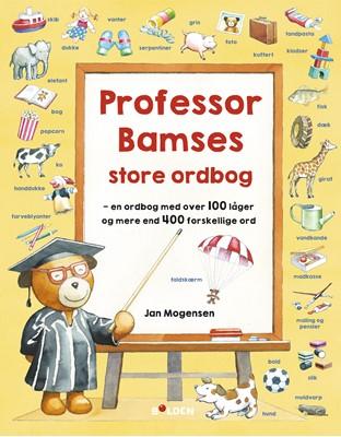 Professor Bamses store ordbog Jan Mogensen 9788772050119