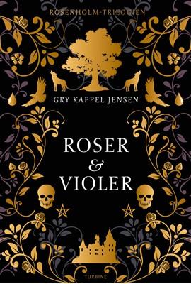 Roser og violer Gry Kappel Jensen 9788740654790