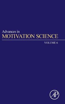 Advances in Motivation Science  9780128171226