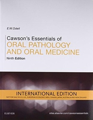 Cawson's Essentials of Oral Pathology and Oral Medicine Edward W. Odell 9780702049811