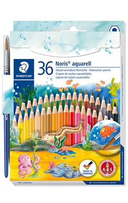 STAEDTLER Noris Club akvarel farveblyanter, 36 stk.  4007817146101
