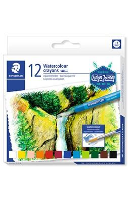STAEDTLER Karat akvarel farvekridt, 12 stk.  4007817023990