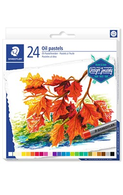 STAEDTLER karat olie pastel kridt, 24 stk. i papæske  4006608200817