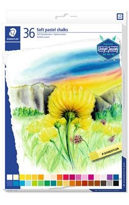 STAEDTLER Karat soft pastel kridt, 36 stk. i papæske  4006608201876
