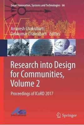 Research into Design for Communities, Volume 2  9789811035203